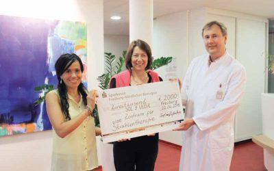 STZ spendet 2000 Euro für Krebskranke Kinder